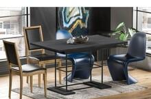 Stół rozkładany GANI 130/210x80 - ciemny beton