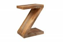 Stolik kawowy Z MANGO - drewno naturalne