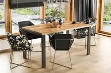 Stół rozkładany GARANT 130/220x80 - dąb wotan