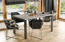 Stół rozkładany GARANT 130/265x80 - beton
