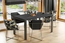Stół rozkładany GARANT 130/265x80 - ciemny beton