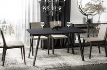 Stół rozkładany LIWIA 130/170x80 - ciemny beton