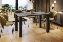 Stół rozkładany JUKA 80/125x80 - beton