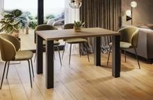 Stół rozkładany JUKA 80/125x80 - dąb sonoma