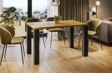 Stół rozkładany JUKA 80/125x80 - dąb artisan