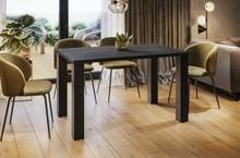 Stół rozkładany JUKA 80/170x80 - ciemny beton