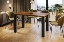 Stół rozkładany JUKA 80/215x80 - dąb stirling