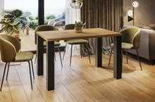 Stół rozkładany JUKA 80/215x80 - dąb wotan