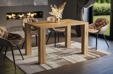 Stół rozkładany NISA 130/220x80 - dąb wotan