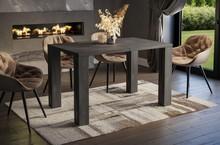 Stół rozkładany NISA 130/265x80 - ciemny beton