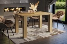 Stół rozkładany NISA 130/265x80 - dąb riviera