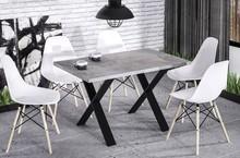 Stół X130 130x80 - beton