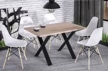 Stół rozkładany X170 130/170x80 - dąb sonoma