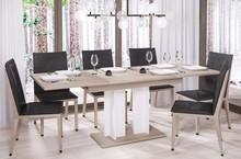Stół rozkładany AURORA 170 130/170x80 - dąb sonoma