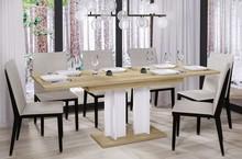 Stół rozkładany AURORA 170 130/170x80 - dąb riviera