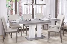 Stół rozkładany AURORA 210 130/210x80 - beton