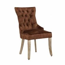Krzesło CASTLE - brązowy