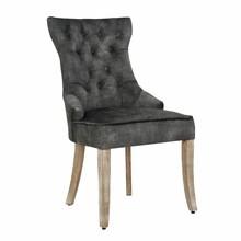 Krzesło CASTLE - szarozielony