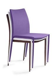 Krzesło DESIGN PVC - fioletowy