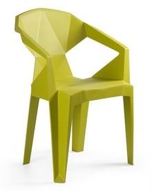 Krzesło MUZE MUSTARD