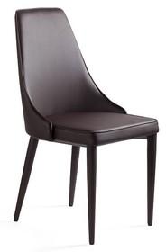 Krzesło SETINA - brązowy