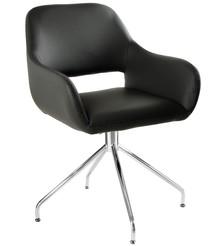 Krzesło obrotowe TALIA - czarny