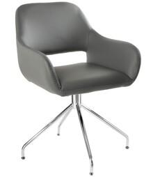 Krzesło obrotowe TALIA - szary