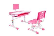 Biurko z krzesłem SANDY - różowy