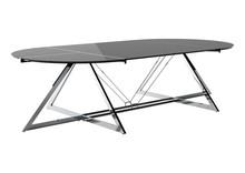 Stół konferencyjny Z-LINE MAIN DESK - chrom/czarny