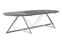 Stół konferencyjny DD Z-LINE MAIN DESK - biały/czarny