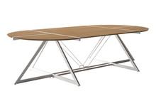 Stół konferencyjny DD Z-LINE XXL - biały/dąb lancelot