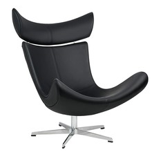 Fotel VOUGE - czarny