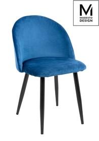 Krzesło NICOLE - ciemny niebieski
