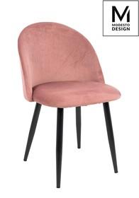 Krzesło NICOLE - pudrowy róż