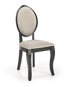 Krzesło VELO - czarny/beżowy