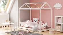 Łóżko dziecięce YOGI 80x160 - biały