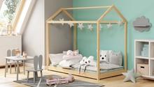 Łóżko dziecięce YOGI 80x160 - sosna