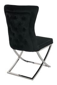 Krzesło IMPERIAL - czarny welur