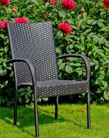 Krzesło SOTTILE - czarny