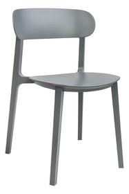 Krzesło z tworzywa NIKON - szary