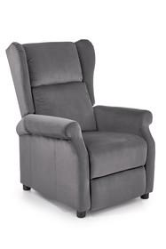 Fotel wypoczynkowy AGUSTIN 2 - popielaty