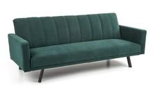 Sofa rozkładana ARMANDO - ciemny zielony