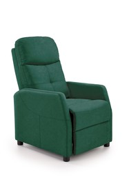Fotel wypoczynkowy FELIPE 2 - ciemny zielony Bluvel 78