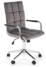 Fotel młodzieżowy GONZO 4 - popielaty velvet