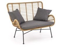 Sofa IKARO XL - naturalny/czarny