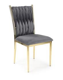 Krzesło K436 - popielaty/złoty