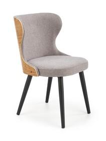 Krzesło K452 - popielaty/dąb naturalny