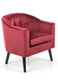 Fotel wypoczynkowy MARSHAL - bordowy