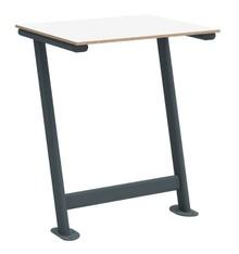 Stolik przytwierdzany do podłogi TWIST PLUS 60x50