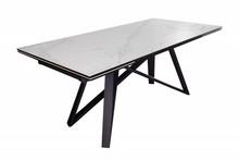 Stół ATLAS 180-220-260 cm marmur - ceramika, metal
